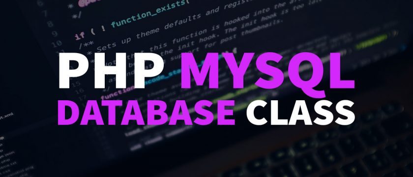 Simple PHP MySQL Database Class (+ Download) Thumbnail