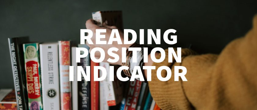 Reading Position Indicator mit jQuery & CSS programmieren Thumbnail