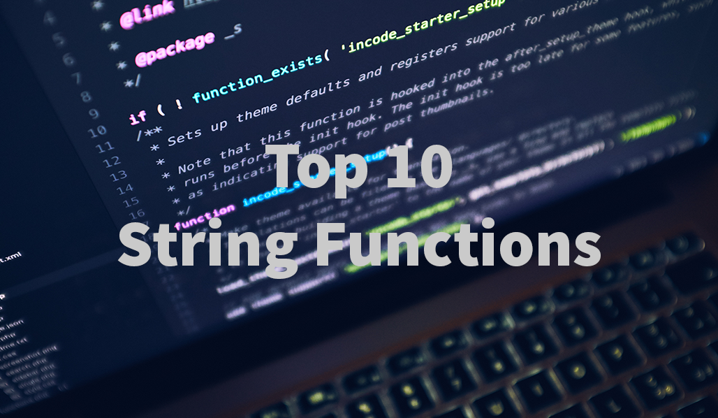 PHP Top 10 String Funktionen