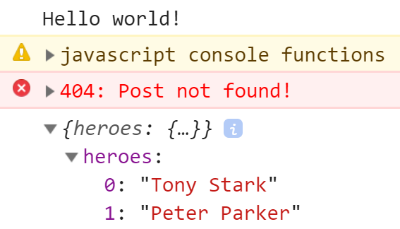 How to use the JavaScript Console correctly!