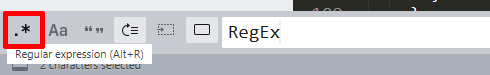 RegEx in Sublime Text 3