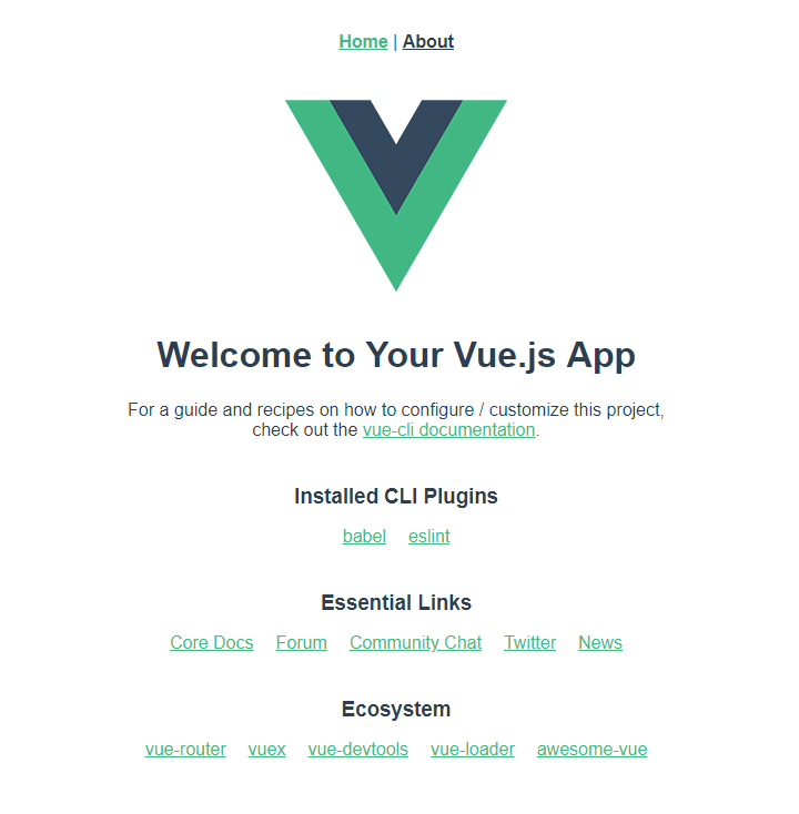 Vue.js - First start