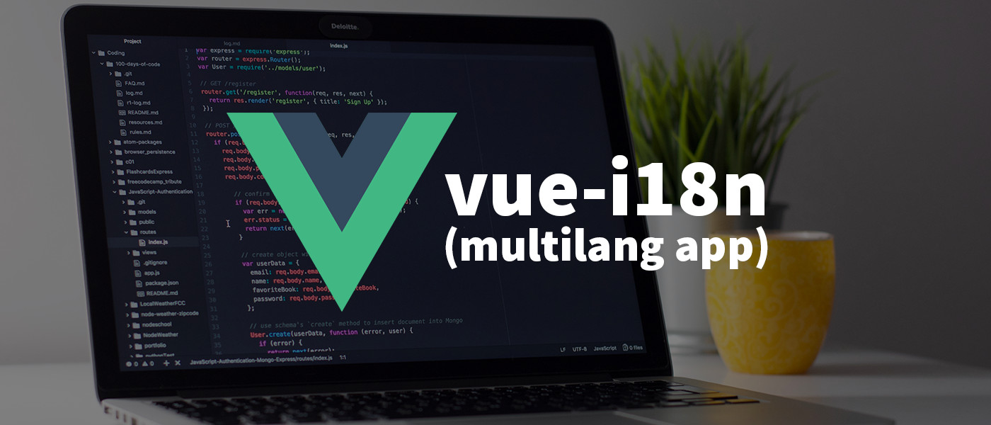 Vue i18n – How to create multilingual Vue.js applications!