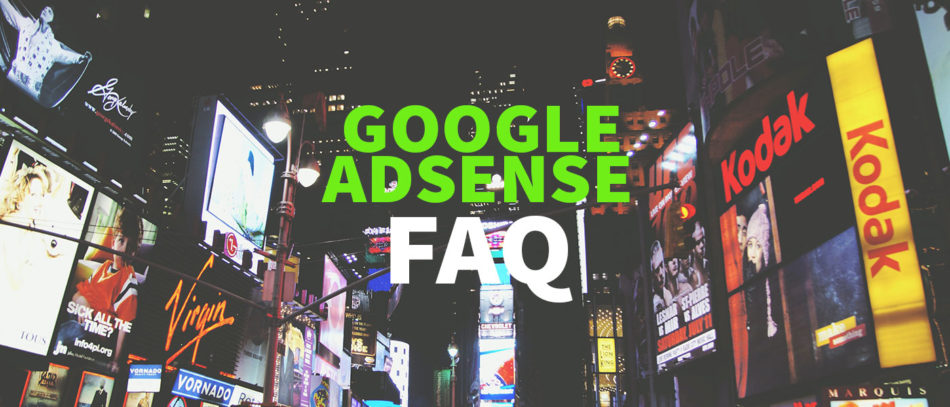 The most important questions about Google AdSense – FAQ Thumbnail